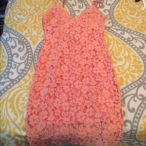 Lulus lace mini dress
